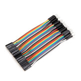 40pcs 10cm Male To Female Jumper Cable Dupont Wire For