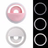 Selfie 36 USB luce a led Ring Flash Fill Clip fotografica per iPhone per Samsung Telefono cellulare