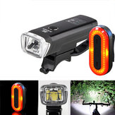 XANES SFL03 600LM XPG LED Smart Induction Bicycle Light STL03 100LM IPX8 Memory mode Fiets Achterlicht Set