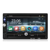 2 DIN 7 Inch HD Car MP4 MP5 Player FM Car Stereo Radio Touch Screen USB AUX bluetooth In Dash Multimedia