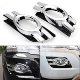 Chrome Front Fog Light Cover Trim For Mercedes-Benz M ML Class W164 2008-2011