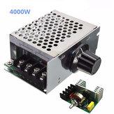 4000W 220V AC SCR Regolatore di Tensione Regolatore di Velocità del Motore Elettrico Dimmer