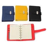 Bolso a7 pu notebook capa de couro diário filofax organizador pessoal planejador