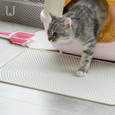 Jordan&Judy JJ-PE0014 Cat Litter Pad Silicone Material Waterproof White  Pet Mat From Xiaomi Youpin