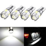 T10 W5W 5630 LED Car Side Marker Lights Canbus Error Free Wedge Bulb Lamp 12V 2.5W White 4Pcs
