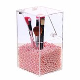 Acryl Clear Container Stofdichte Make-up Case Box Cosmetische Opberghouder Organizer Borstel