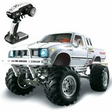 HG P407 1/10 2.4G 4WD Rally Rc Авто для TOYATO Metal 4X4 Пикап для скалолазания RTR Toy