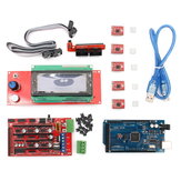 Geekcreit®RAMPS 1.4 + Mega2560 + A4988 + 2004LCDコントローラArduinoのリプレイ用3Dプリンタキット