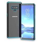 BakeeyKaplamaTemizleŞeffafSoftTPU Koruyucu Kılıf Samsung Galaxy Not 9 için