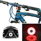 BIKIGHT COB LED Cycling Rear Warning Light 5 Modes USB Rechargeable Waterproof Bike Tail Light