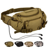 Nylon Outdoor Tactical Waist Bag Camping Fanny Pack Military Messenger Bags For Men
