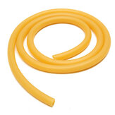 8mm × 100cm Rubber Slang Amber Latex Tube Bleed Tube Lab Supplies