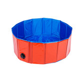 Foldable Dog Pool Pet Bath Inflatable Swimming Tub Collapsible Bathing Pool for Dogs Cats Kids Portable Durable PVC Composite Cloth