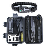 Buitensporten SOS Emergency Survival Tools Kit voor Tactical Hunting Tool With Self-Help Box
