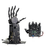 LOBOT uHand STM32 Open Source RC Robot Right Arm APP/Stick/Glove Control Educational Robot Arm Kit