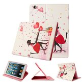 Cute Magnetic PU Leather Stand Smart Case Back Cover For iPad Air 2