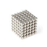 216sztukzadużo3mmMagnesyczny Ball Buck Ball Inteligentne zabawki Relress Relive Silver