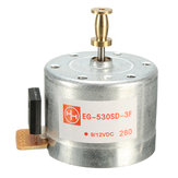 DC 9-12V 3-Speed 33 45 78 RPM Metal Turntables Motor 25 mm Mounting Holes For Record Player