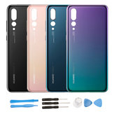 Replacement Protective Battery Cover Rear Housing with Tools Kits for Huawei P20 Pro