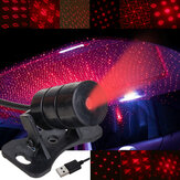 Mini LED Autodak Plafond Star Nachtlampje Projectorlamp Interieur Sfeer Decoratie Starry Projector USB-stekker