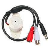 Connecteur microphone imperméable sain professionnel de microphone pour le système de caméra de télévision en circuit fermé de sécurité