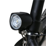 BIKIGHT 36-48V Wide Voltaggio Universal Highlight 400LM Bike Front Light Built-in 80db Horn per Scooter Elettrico Moto E-bike