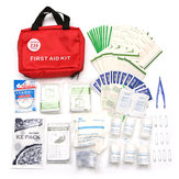230 Pieces First Aid kit Emergency Set Kit Outdoor Wilderness Survival Medical Treatment Pack Set