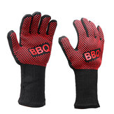 1 Pair 662°F Heat Proof Resistant Barbecue BBQ Grilling Gloves Kitchen Cooking Work