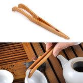 Bamboe Thee Tweezer Clamp Kungfu Thee Acties