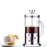 Paslanmaz Çelik Çaydanlık Cafetiere Fransız Kahve Çay Filtresi Pres Pistonu
