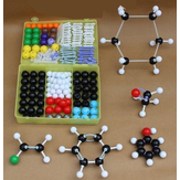 267Pcs Chemistry Organic Inorganic Molecular Structure Model Set 116 ball and 150 stick Medical Model