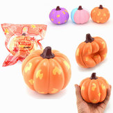 2PCS Kiibru Halloween Squishy Pumpkin Vegetable 12cm Slow Rising Gift Collection