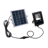 Solar Powered 10W 20LED SMD5730 Impermeabile IP65 Remote + Timer + Light Control Flood Light