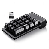 Small 2.4GHz Wireless Numeric Keypad Mini Suspension Number Pad Keyboard for Laptop PC