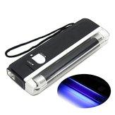 4W Mini Lampe UV Portable Ultraviolet Noir Détecteur D'Argent Banque Notes Vérifier Torche Flash Light