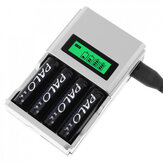 Palo C903W 4 Slot LCD Display AA AAA NI-CD NI-MH Rechargeable Battery Charger