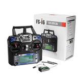 FlySky FS-i6 2,4G 6CH AFHDS RC Transmissor com FS-iA6B Receptor