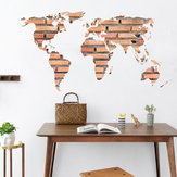 DIY Removable Wall  Sticker Art World Map Mural Decal Room Home Decor