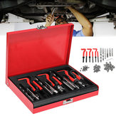 88Pcs Thread Repair Tool Helicoil Metric Rethread M6 M8 M10 Stainless Steel Kit