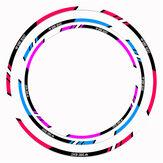 Ruhu Canavar Motosiklet Lastik Dekorasyon Çıkartmaları Yansıtıcı Motokros Tekerlek 10/12/18 Inç Sticker