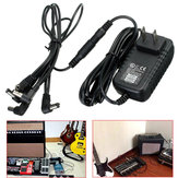 9V DC 1A 1000mA 6 Way Guitar Effect Pedal Device Power Supply Adapter Cable Kit