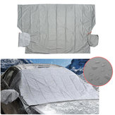 Magnetic Car Windscreen Cover Anti Snow Frost Ice Cotton Thickended with Mirror Protector