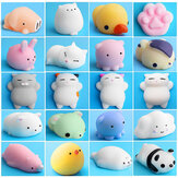 Mochi Squishy Cat Kitton Seal Squeeze mignon guérison jouet Kawaii Collection Stress Reliever cadeau décor