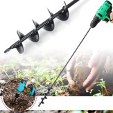 750×50mm Earth Auger Spiral Drill Bit Post Hole Digger Home Garden Auger Drill