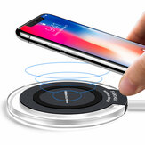 Bakeey 10W LED Light Qi Wireless Charger Charging Pad For iPhone X 8Plus S9+ S8 Note 8