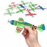 10Pcs Avions Planeur Volant Cadeau d'Anniversaire Fête de Noël Sac de Remplissage