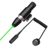 Green Laser Beam Dot Sight Scope Tactical Fass Schienenmontage mit Ferndruckschalter