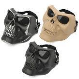 Tactical Skull Skeleton Full Face Maska ochronna War Game Hunting Costume Party
