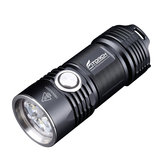 Fitorch P25 4x LED XPG3 3000LM 5 modalità IPX-8 Waterproof LED Flashlight 26350 Li-ion Batteria