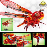 SEMBO Dragonfly DIY Daxie Flying Insect Building Blocks Bricks Toys Gift Decor